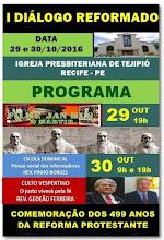 29 E 30.10.2016 - I DIÁLOGO DA REFORMA