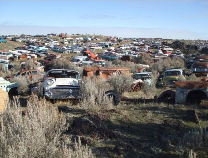 Home salvage yards