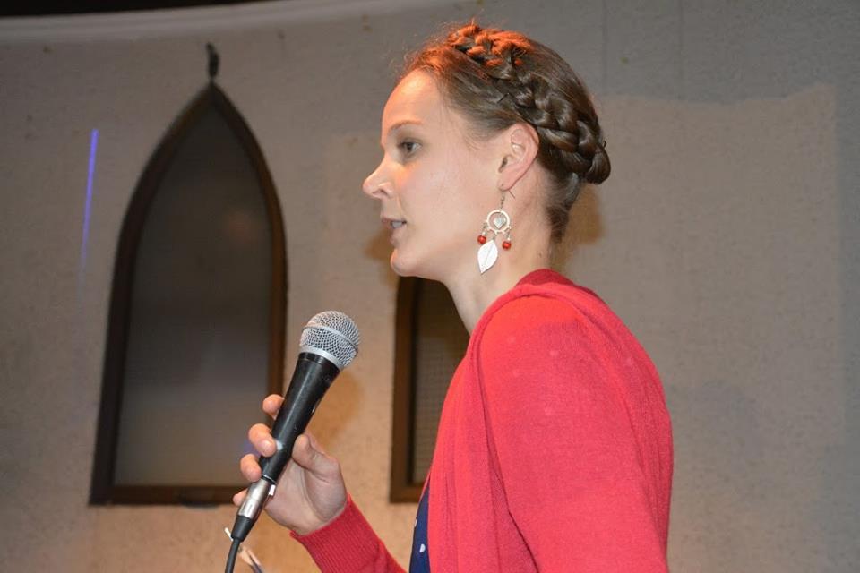 Elizabeth Speaking...