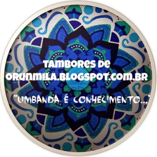 Tambores de Orunmilá Novo Logo do Tambores de Orunmilá  2014