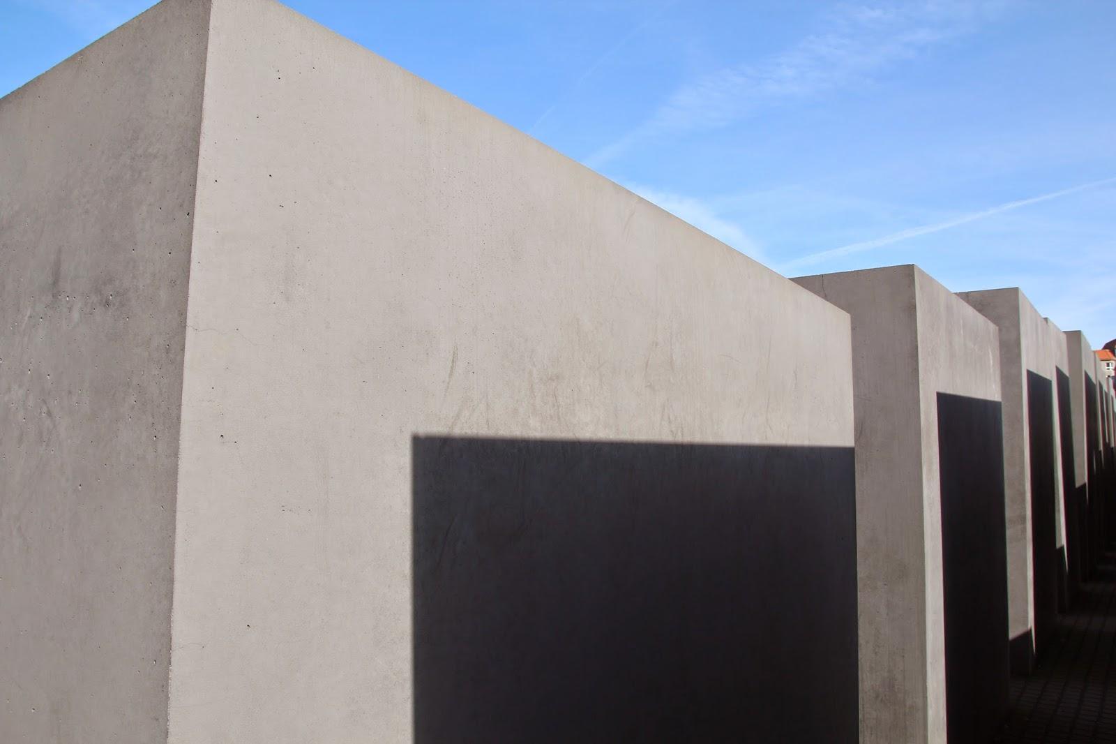 pomnik pomordowanych żydów europy Berlin