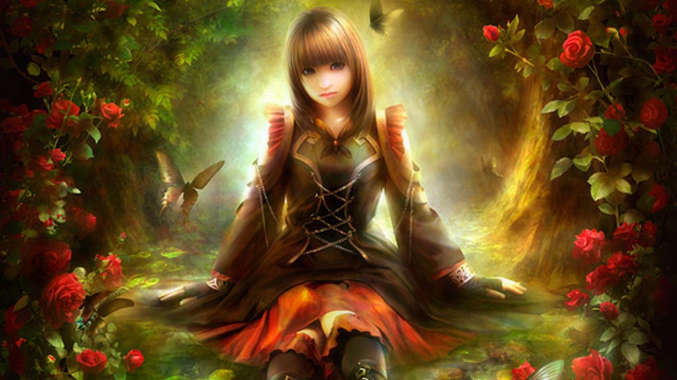 Windows Anime Girl