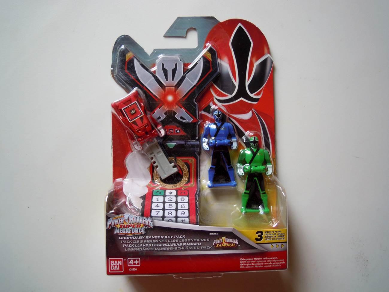 Power Rangers Megaforce Deluxe Legendary Morpher with 3 Set Legendary Key Packs