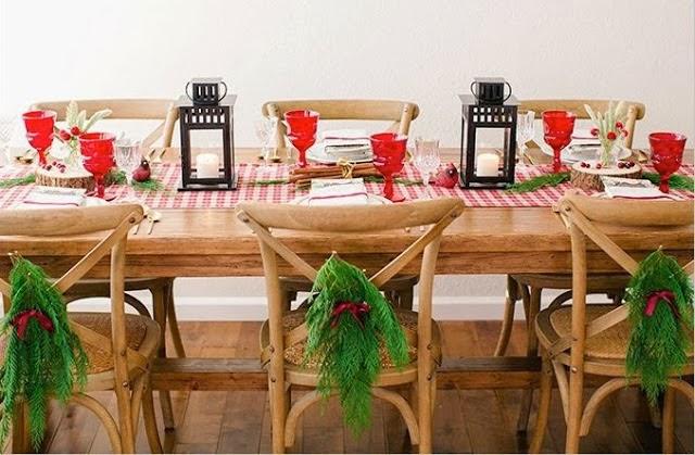 En la cabeza de sari como decorar la mesa para navidad - Como decorar la mesa en navidad ...