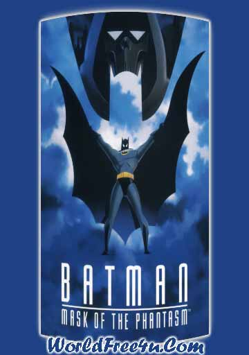 Poster Of Batman Mask of the Phantasm (1993) In Hindi English Dual Audio 300MB Compressed Small Size Pc Movie Free Download Only At worldfree4u.com