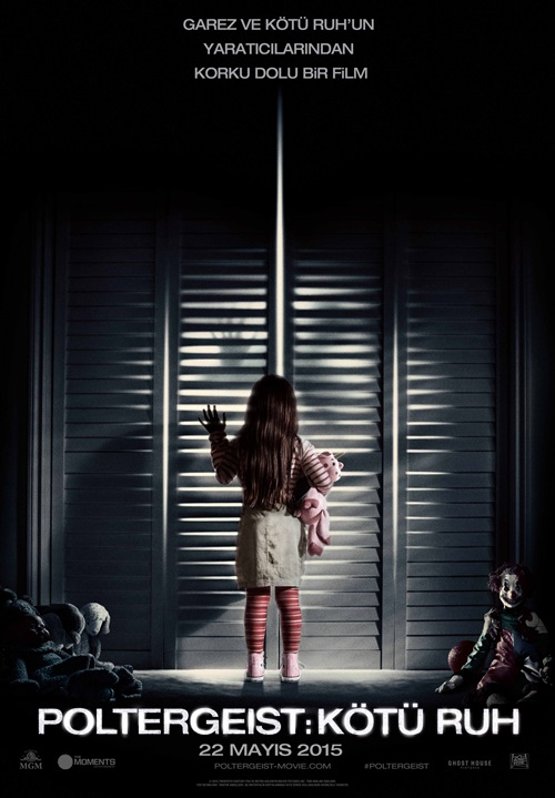 Poltergeist: Kötü Ruh (2015) 720p Film indir