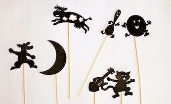 Printable Shadow Puppets | Munchkins and Mayhem