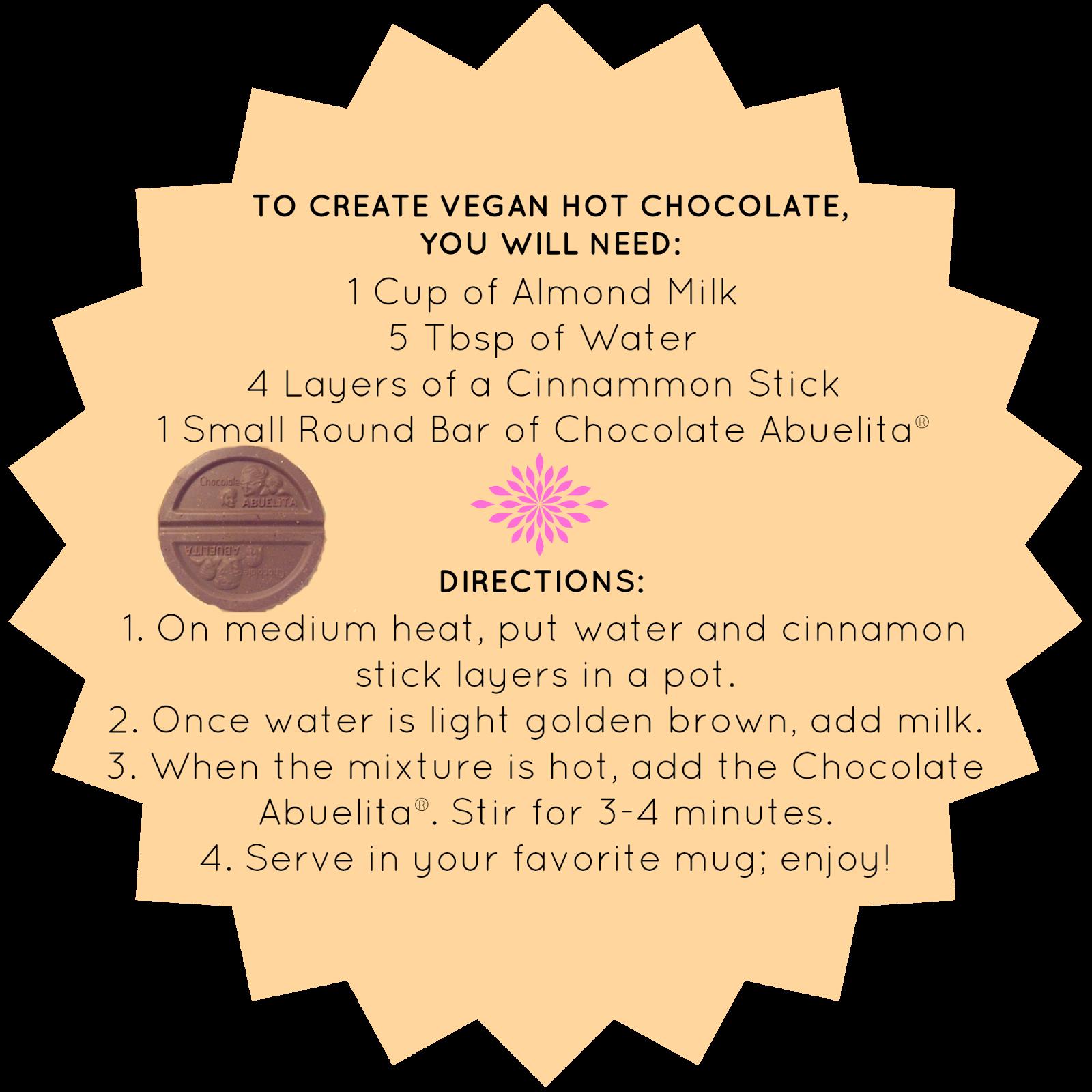 Vegetarian Courtesy: The Best Hot Chocolate is Vegan.♡