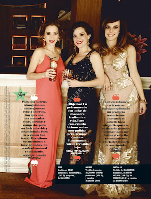 Ana Fernandez, Carolina Bang, Aura Garrido Cosmopolitan Spain Magazine Photoshoot February 2014