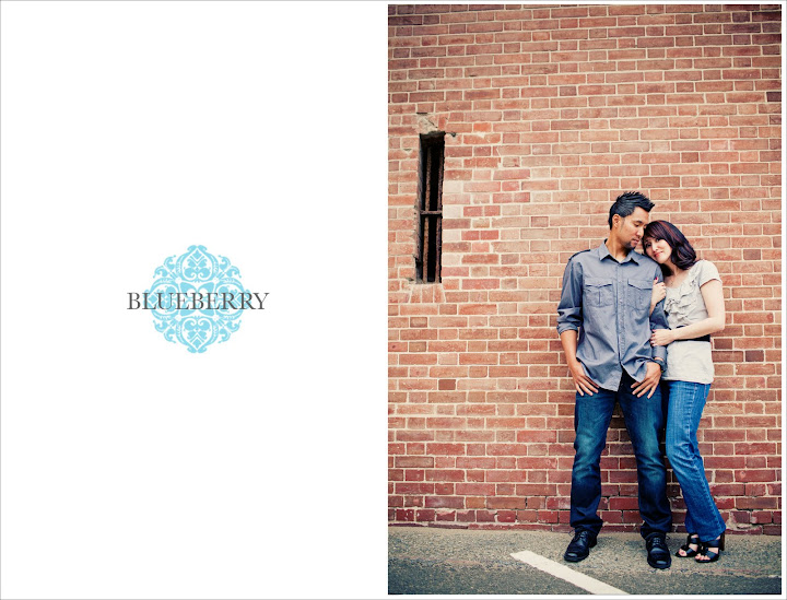 San Francisco urban engagement photography red brick wall