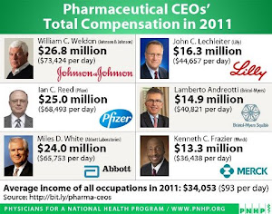 Pharmaceutical CEO's Comp