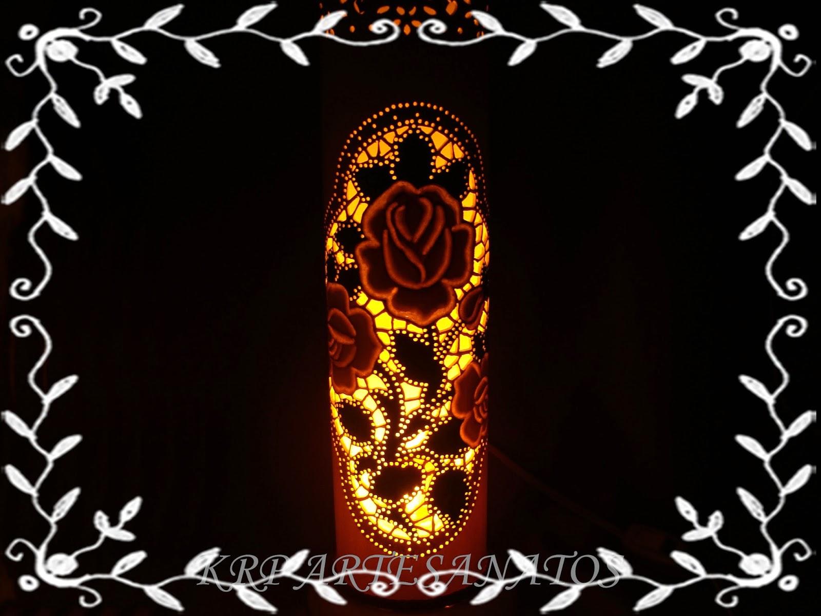 luminária-em-pvc-rosa-salmão-acessa
