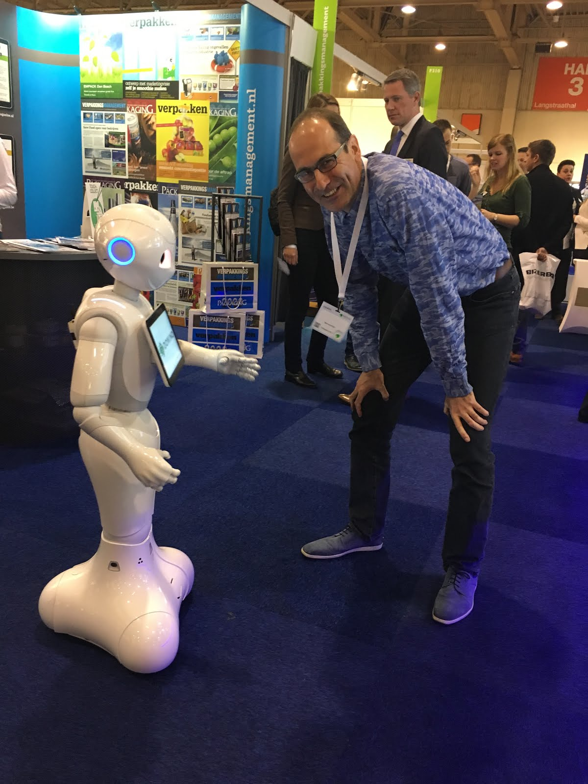 Robot Pepper en ik
