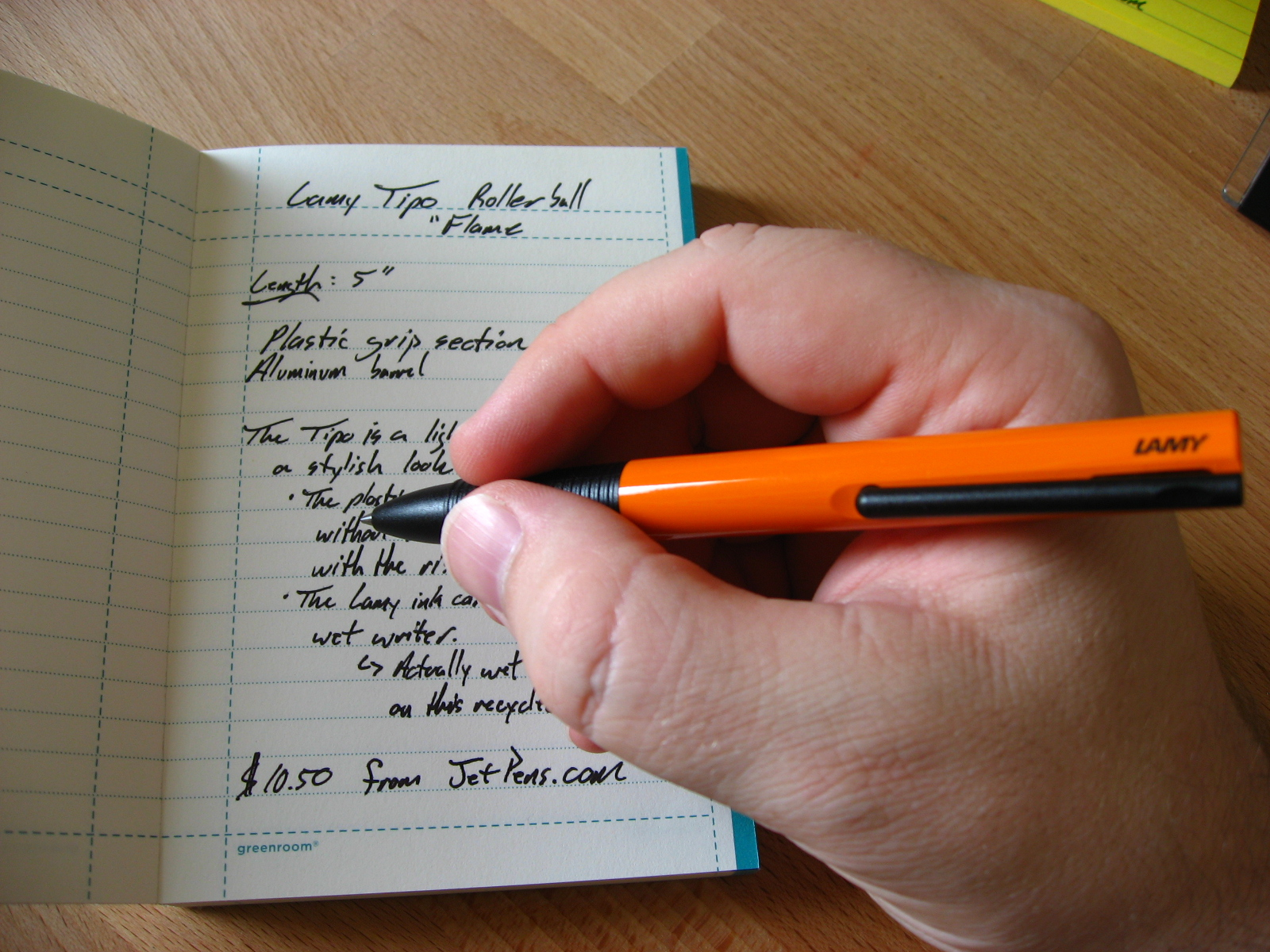 Lamy Tipo Review — The Pen Addict