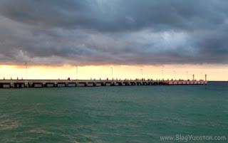 muelle pescadores yucatan