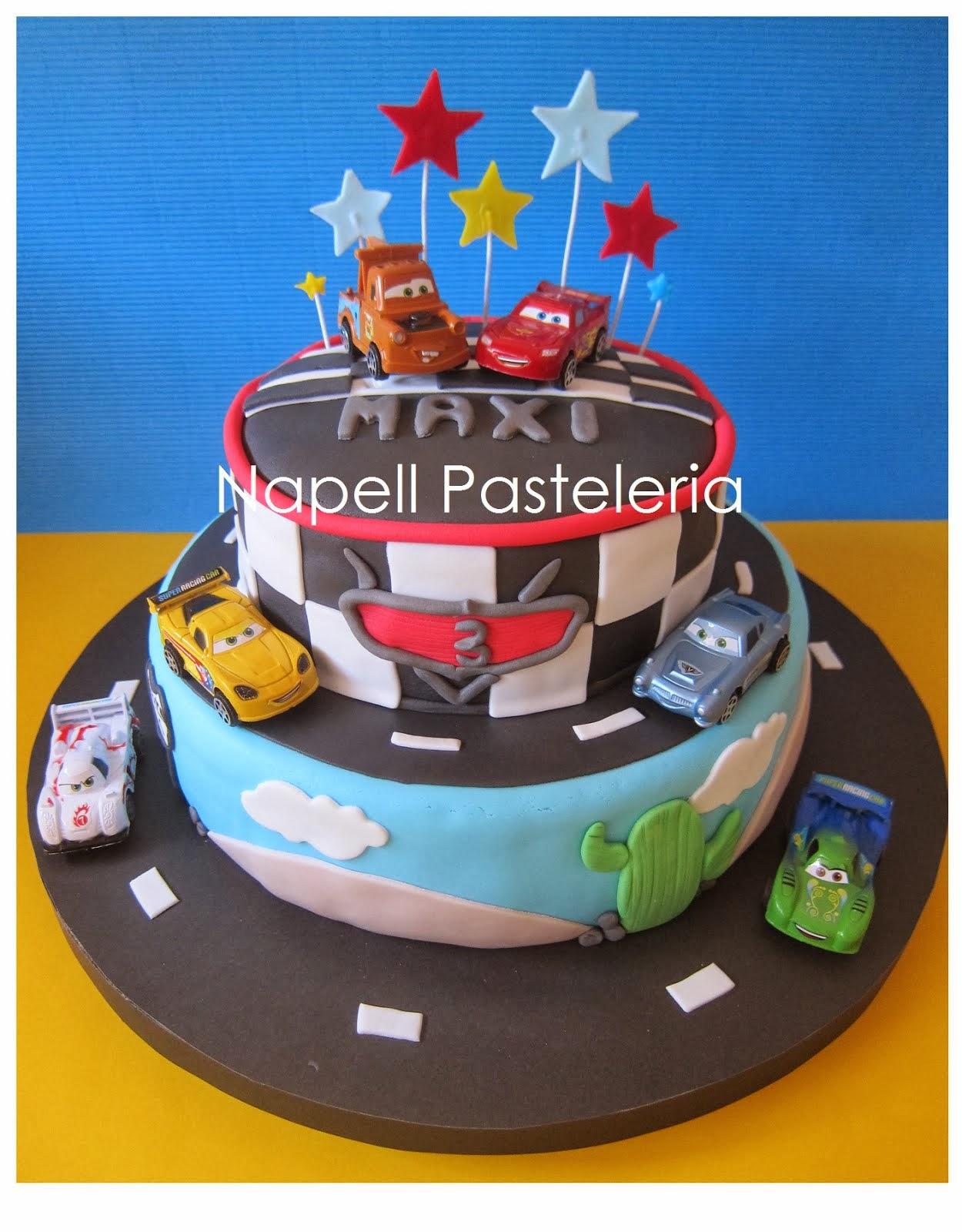 Torta Doble Cars