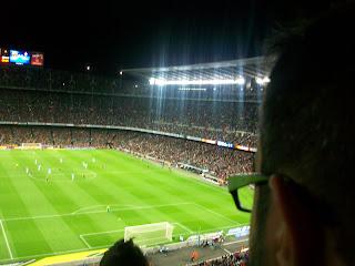 En el Camp Nou por Rubén Ros
