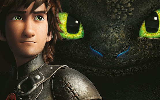 how to train your dragon movie 2014 animation characters hiccup toothless