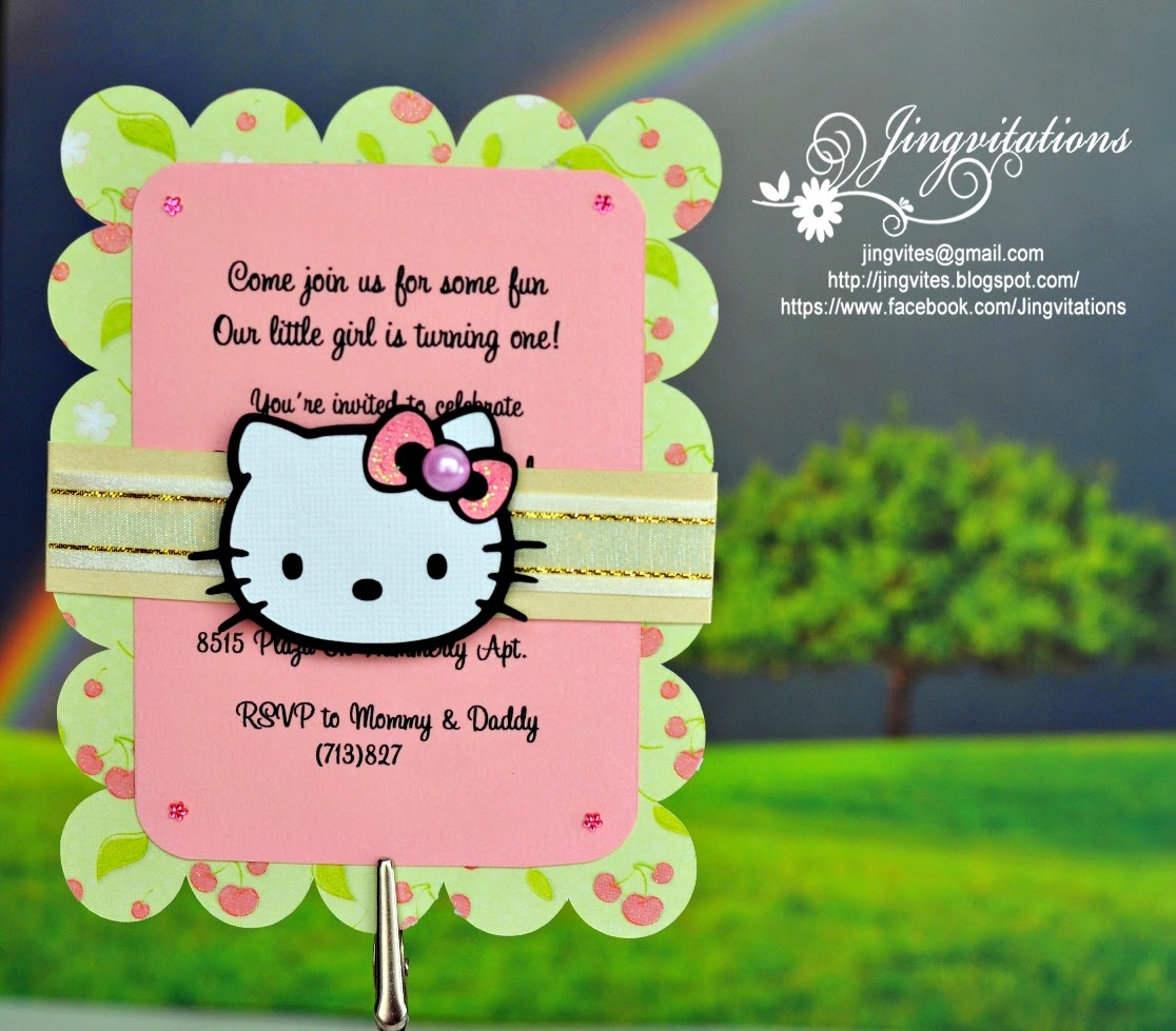 hello kitty baby shower