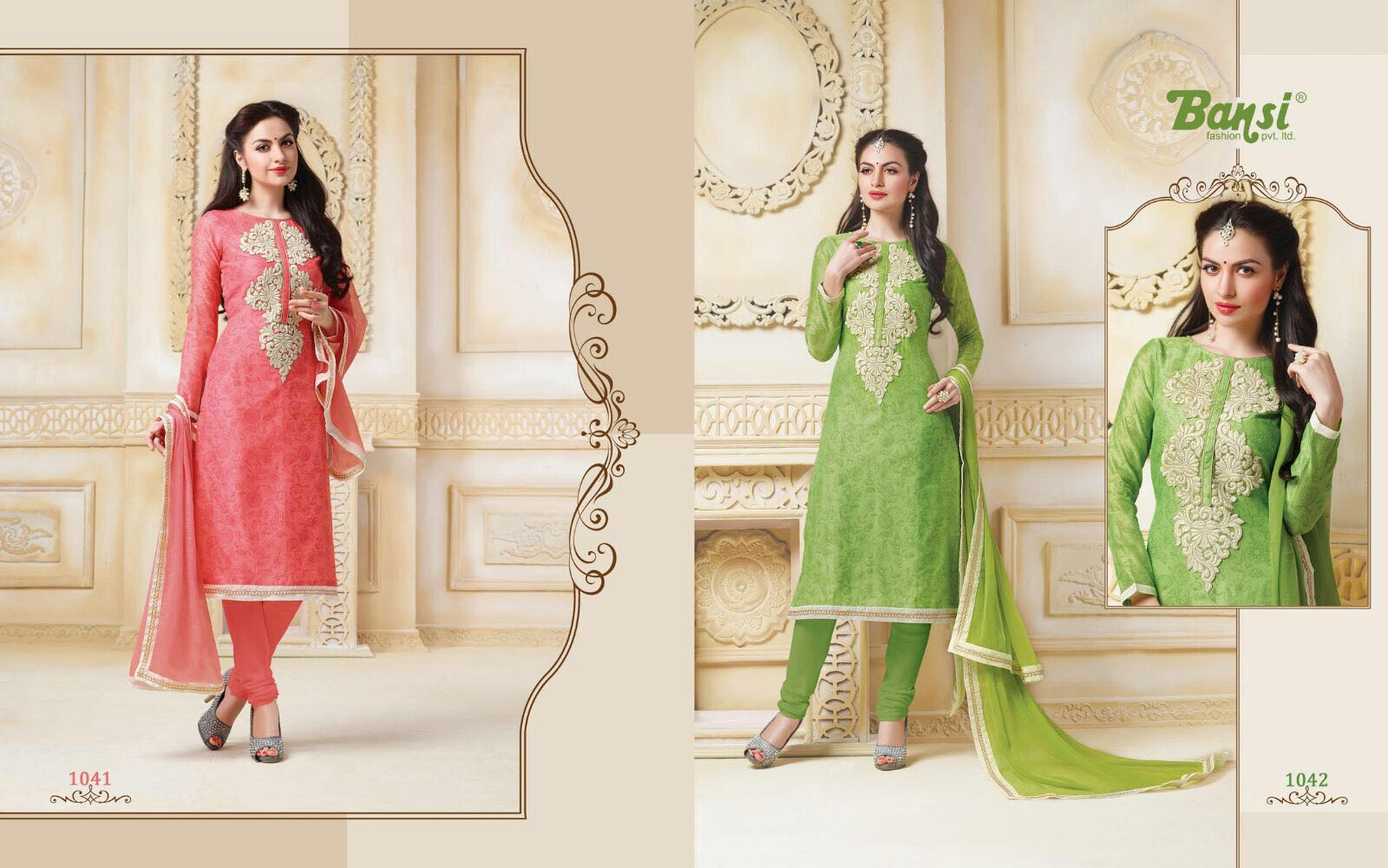Lables Vol 3 – Light Embroidered Attractive Churidar Salwar Suit