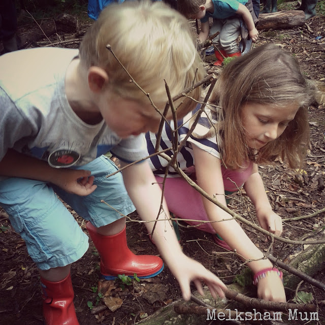Yeo Valley mini den building fun