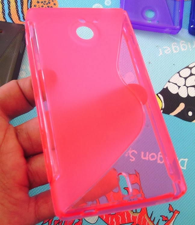 TPU Jelly Case for Sony Xperia Sola MT27i - Pink