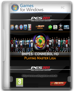 Pes 2011 – Patch Conmebol HD 1.0