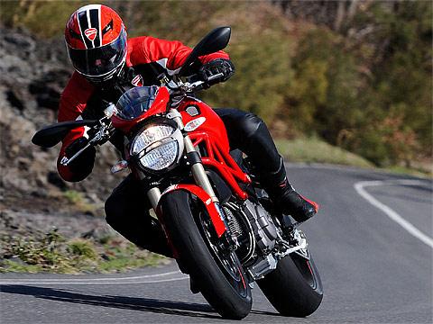 2013 Ducati Monster 1100 EVO Gambar Motor, 480x360 pixels