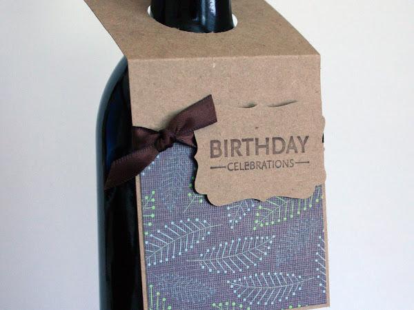 Wine Bottle Tag Tutorial