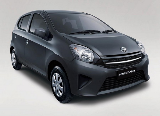 Warna Astra Toyota Agya - Grey Metallic