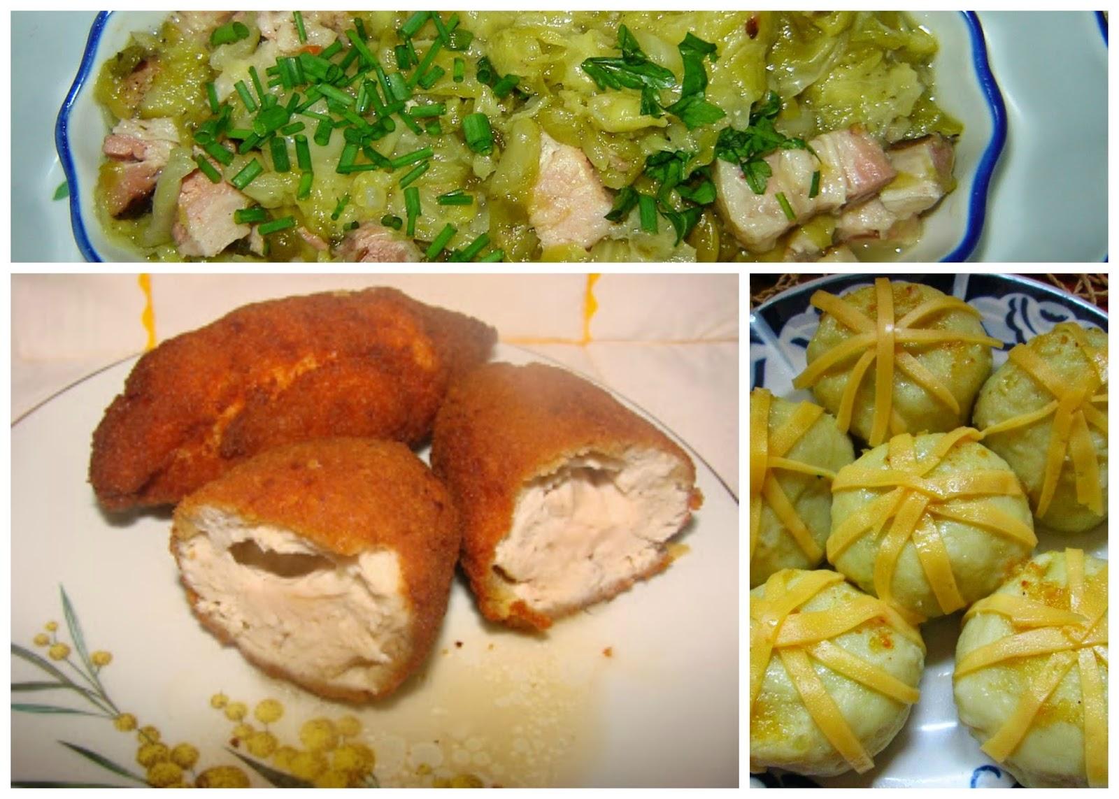 Obiad Niedzielny Devolay Knedle I Kapusta Tradycyjna Kuchnia