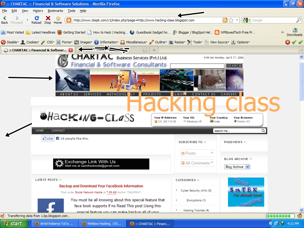 Hacking Website Using Remote File Inclusion ~ Hacking - Class
