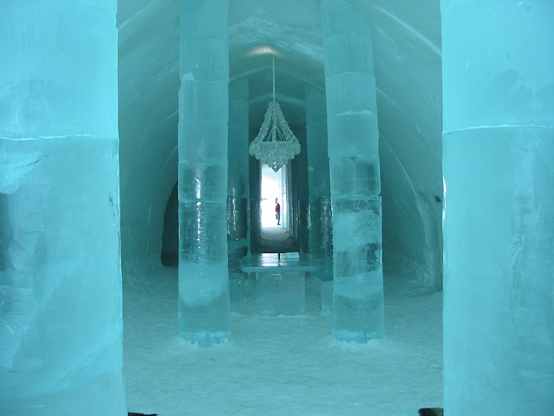 Ice Hotel In Sweden City title=