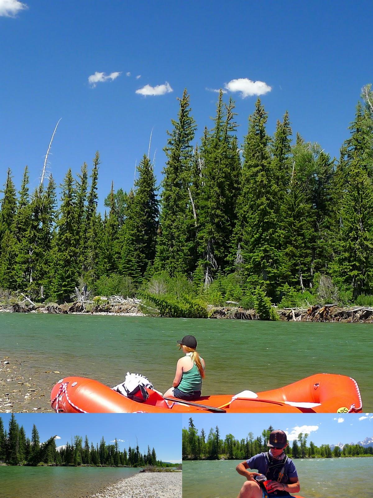Scenic Rafting Through Grand Teton National Park