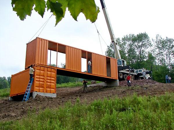 Casas contenedores 6 pasos b sicos para construir una casa con contenedores - Como hacer una casa con un contenedor maritimo ...