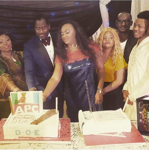 desmond elliott apc birthday cake