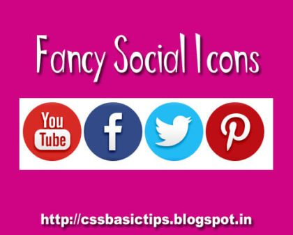 How to create social media icons with the help of CSS coding.