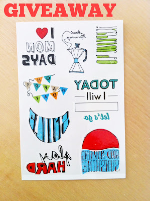 Giveaway Temporary Tattoos