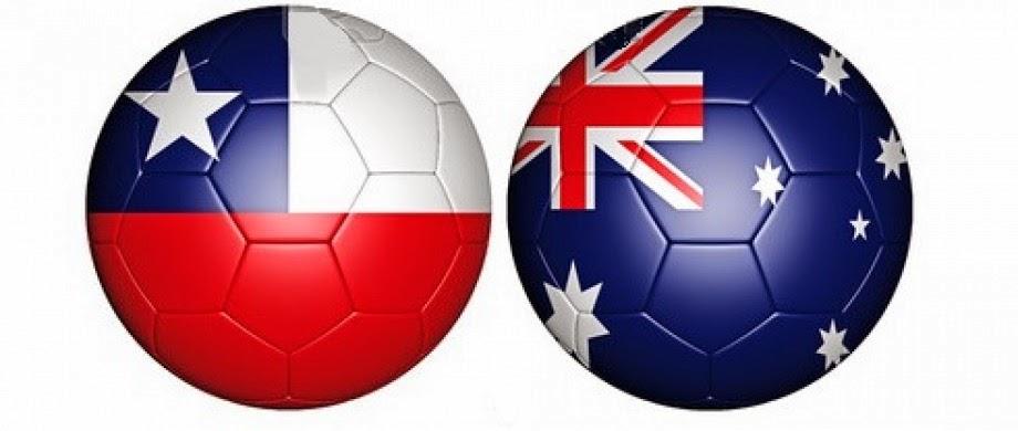 Chile 3 - 1 Australia. Grupo B. Jornada 1. Chile hace los deberes contra Australia