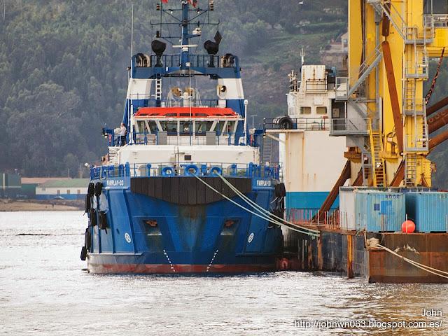 fotos de barcos, imagenes de barcos, fairplay 33, amt commander, remolcador, gabarra, vigo