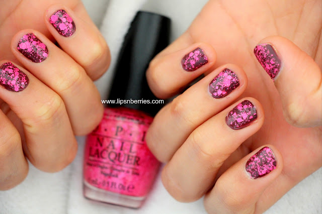 OPI on pinks and needles nail paint