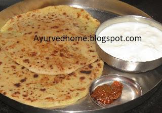 aaloo ke bharva paratha
