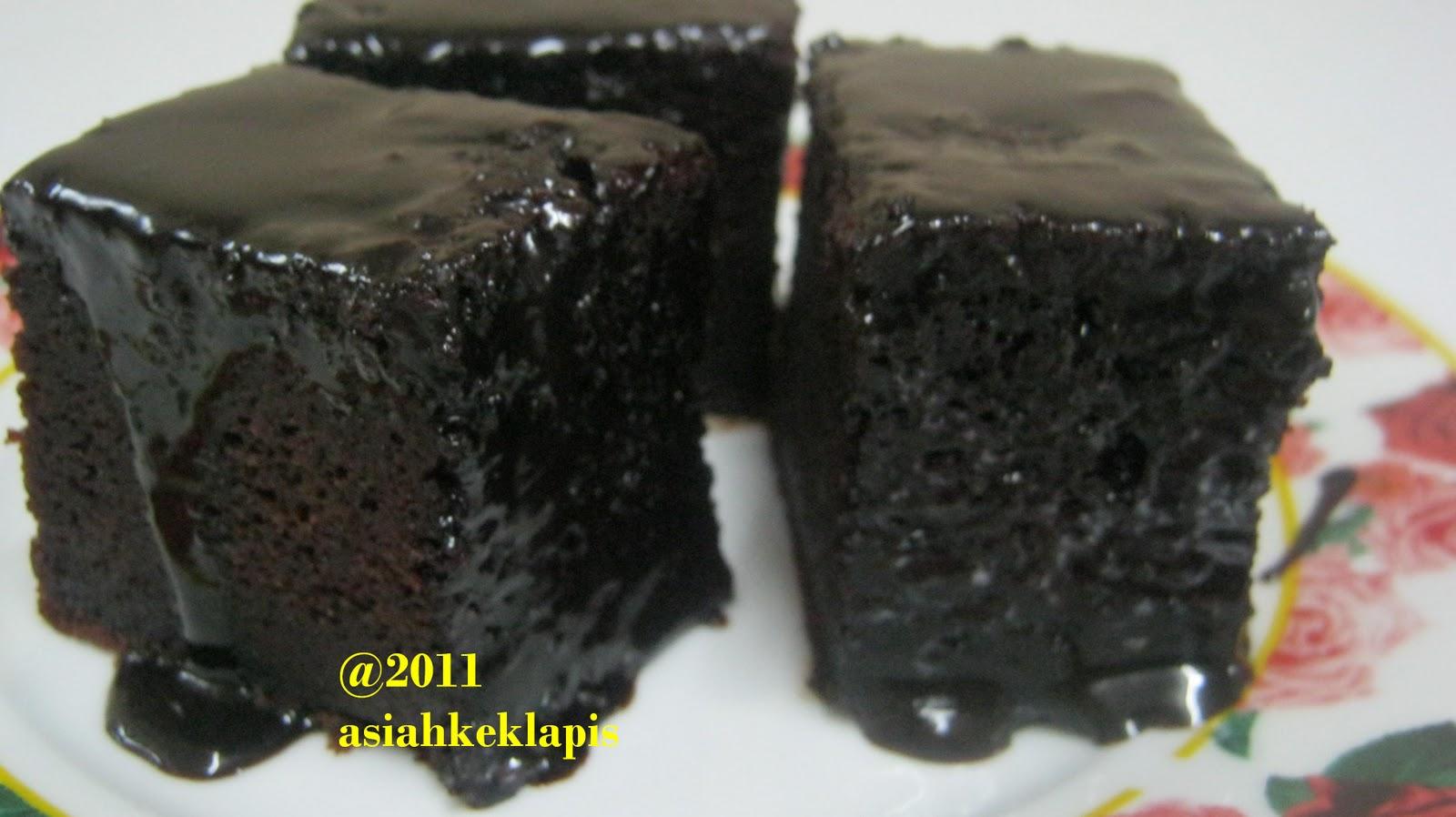 ASIAH KEK LAPIS: Resepi Kek Coklat Moist Esid