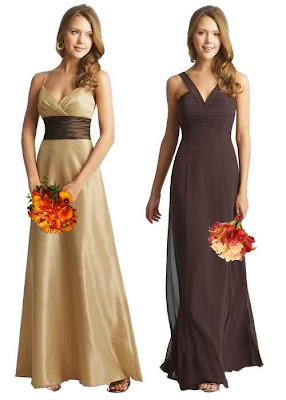 Winter Bridesmaid Dress
