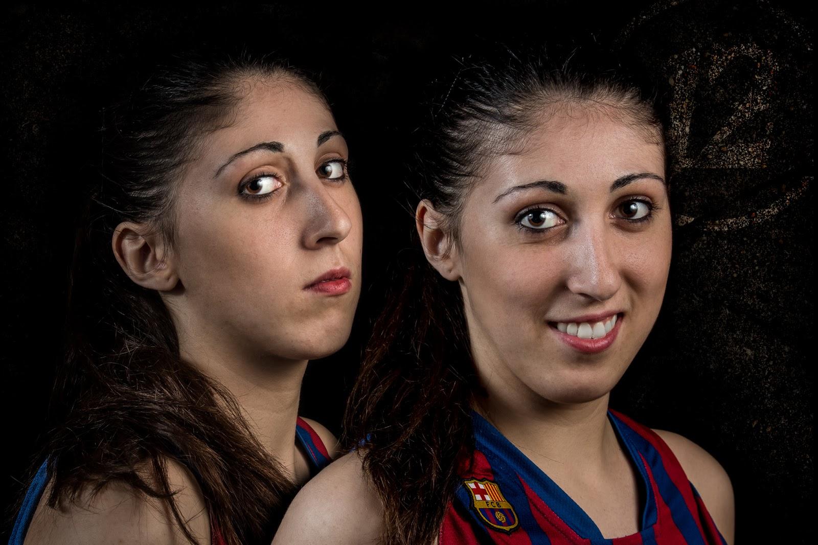 Laia 12 - CBS Barça Senior Femenino A - 2013 :: 2 x Canon EOS 5D MkIII | ISO100 | Canon 24-105 @40&45mm | f/11| 1/60s