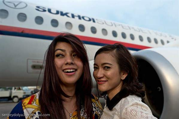 Kumpulan Foto Sebelum Tragedi Sukhoi