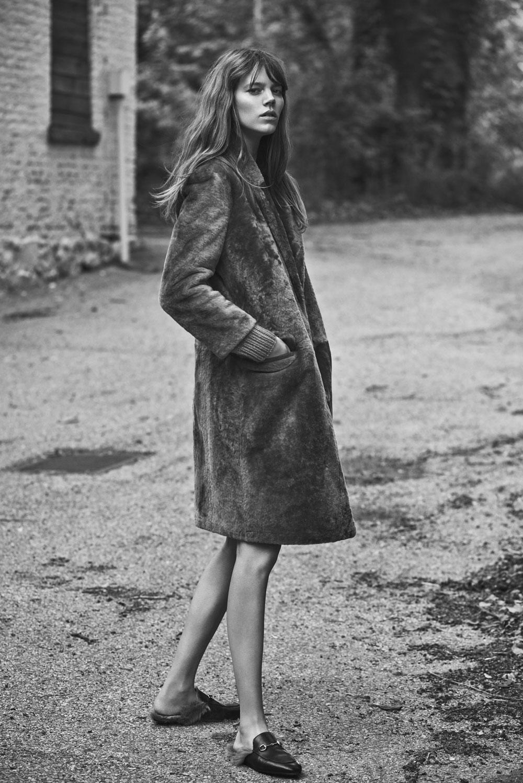 Editorial Fashion Freja Beha Erichsen Evokes The