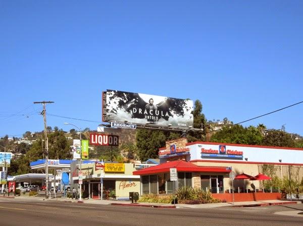 Dracula Untold billboard ad