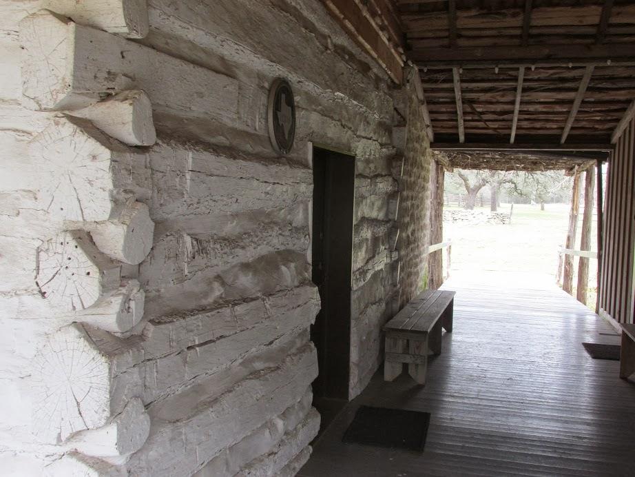 frontier log cabin