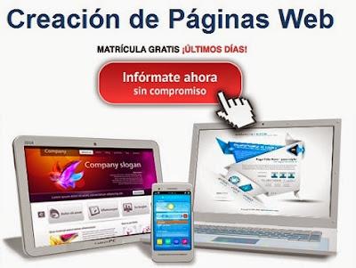 Curso de creación de páginas web de Deusto Formación